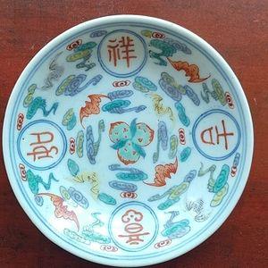 Vintage hand painted Plate.